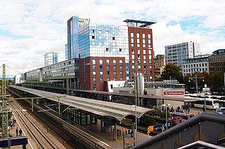 Ansicht Hauptbahnhof Freiburg