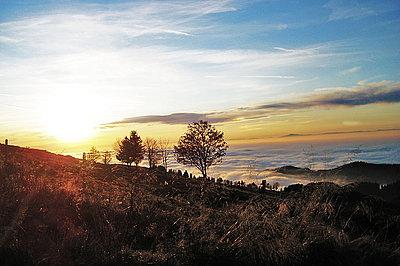 Sonnenuntergang Schauinsland