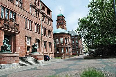 Das alt-ehrwürdige Kollegium I der Albert-Ludwigs-Universität Freiburg