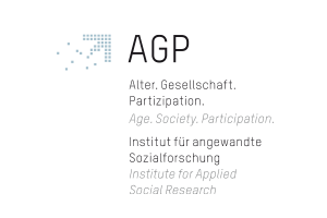Logo AGP Alter. Gesellschaft. Partizipation