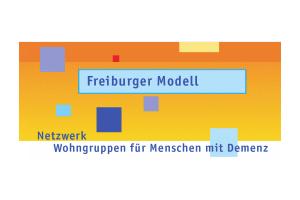 Logo Freiburger Modell - Netzwerk Wohngruppen für Menschen mit Demenz